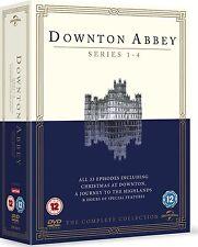 NEW Downton Abbey  Series 1-4 plus  CHRISTMAS Specials PAL Region 2
