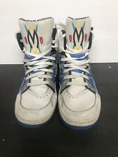 adidas Mutombo 55 OG Sneaker Size 10 White And Blue