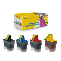 1Set Compatible LC41BK LC41C LC41M LC41Y Ink Cartridge For Brother FAX1840C