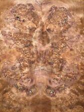 Nußbaum Wurzelholz Furnier Intarsien A 70x23/25cm 2 Blätter