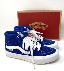 VANS Sk8-Hi Pro Suede Blue Men's Sneakers VN000VHG815