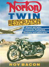 NORTON RESTORATION MANUAL BOOK HOW TO RESTORE TWIN COMMANDO BACON DOMINATOR TT
