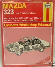 HAYNES MANUAL MAZDA 323 FWD 1608