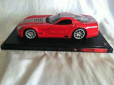 Hot Wheels 1:18 Diecast Dodge Viper GTSR Red 2000 No Box