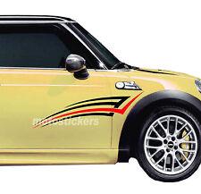 Adesivi Mini Cooper - Tuning Auto Adesivi Auto Coo008 - racing decals