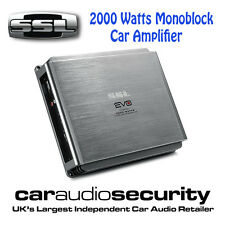 SSL EVO2000.1 2000 WATT MONOBLOCCO AMPLIFICATORE AUTO SUBWOOFER BASS Amplificatore
