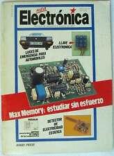 REVISTA NUEVA ELECTRÓNICA Nº 42 / ENERO 1987 - HOBBY PRESS - VER ÍNDICE