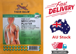 Tiger Balm Pain Relief Patches - Cool - 4 Pack - 8 Patches - 7*10 CM -FAST POST