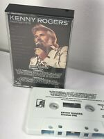 Vintage Kenny Rogers Greatest Hits Cassette 1980 21:36 Tested WORKS