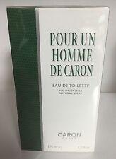 Caron Pour Un Homme 4.2oz / 125 ml Men's Eau de Toilette Spray,New in box/Sealed