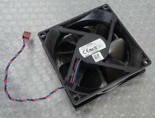 Dell HU843 Precision T1500 Workstation Cooling Fan 3-Pin/3-Wire 92mmx92mmx25mm