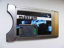 Ci-Modul MaxCam Twin V1 mit aktuellster Super Soft 5.28 HD+,Sky V13 V14,SRG,SRF.
