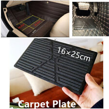 Driving Postion Car Floor Mat Foot Rest Pedal Plate Pad Durable Composite PVC