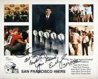 Edward DeBartolo Jsa Coa Autograph Hand Signed 8x10 49ers Photo