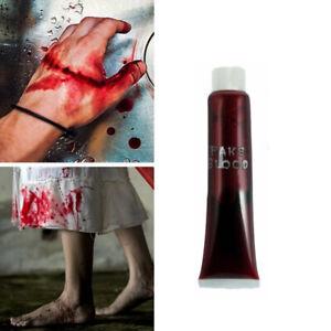 Fake Blood Zombie Vampire Make Up Red Wound Scar Halloween Horror Fancy Dress 1*