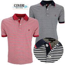 Polo maglia maglietta uomo manica corta a righe cotone Coveri m l xl xxl xxxl
