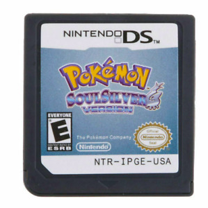 Pokemon SoulSilver & HeartGold Version Game Card Nintendo 3DS NDSI NDS Lite US