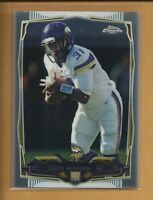 Jerick McKinnon RC 2014 Topps Chrome Rookie Card # 160 Vikings Football