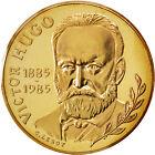 Monnaies, Vème République, 10 Francs Victor Hugo, 1985, Piéfort, KM #81587