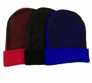 Autumn Winter Outwear Bonnets For Men Knitted Break Dance Spin Head Gear Beanies