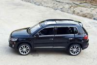VW Volkswagen Tiguan L SUV 1:32 Diecast Alloy Sound&Light Pull Back Car Model