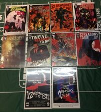 WOW 12 Reasons To Die Comics Complete Set 1-6 + 4 Variants Ghostface Killah