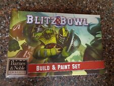 Blitz Bowl Official Build & Paint Set Exclusive Brand New Sealed Games Workshop