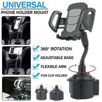 New Universal Adjustable Car Mount Gooseneck Cup Holder Cradle for Phone