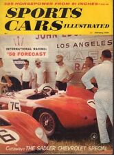 Sports Car Illustrated Magazine The Sadler Chevrolet February 1958 022818nonr