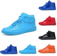 Mens Sneakers High Top Breathable Fashion Sport Casual Athletic Basketball Shoes