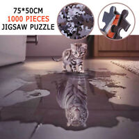 1000 Pieces Thicken Jigsaw Puzzles for Adults Educational Paper Puzzle Toy Game