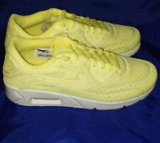 a3bea9932 Nike Air Max 90 Ultra 2.0 BR 898010-002 Trainers ,yellow &white, SZ6