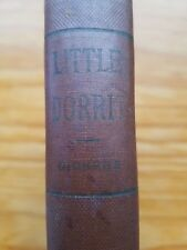 Charles Dickens Book Antique Little Dorrit Classic Novel Reading Lupton