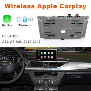 For Audi A6L A7 A8L 2012-2017 C7 Original Screen Auto Wireless Carplay Interface