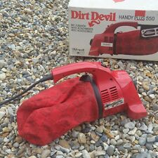 ROYAL DIRT DEVIL HANDY PLUS 550 WITH ATTACHMENTS RED