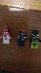 Lego minifigures ninjago snake bundle