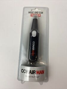 Conair MAN Nose and Ear Hair Trimmer Man Cordless Battery Operated Wet/Dry RNT1