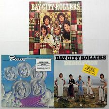 BAY CITY ROLLERS LOT OF 3 LPs #1726
