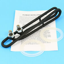 Spa Heater Element COATED Hot Tub Heating Coil 4kw Side Terminal Style 9.8""