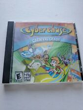 Video Game Pc Cyberchase Carnival Chaos kids children software in Jewel case