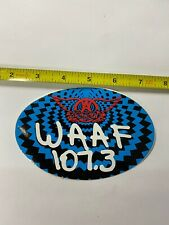 Aerosmith Big Ones WAAF sticker promo Rare
