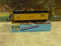 Athearn #1361 Green Bay & Western RR 50 ft. Plug Door Boxcar 1/87 HO Built NIB
