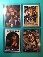 MAGIC JOHNSON (4) STADIUM CLUB HOOPS TEAM USA UPPER DECK LAKERS