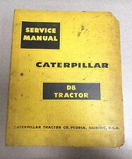 Caterpillar Cat D8 Tractor Service Repair Manual
