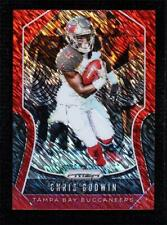 2019 Panini Prizm Red Shimmer 8/15 Chris Godwin #191