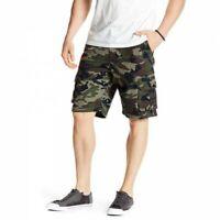 Quiksilver Men's Camo Measure Cargo Shorts (Retail: $39.99)