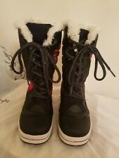 Mix No. 6 Tagish Women (US size 6) Black color with plaid design winter boot