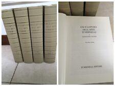 1967 - ENCICLOPEDIA DELL'ARTE TUMMINELLI -ALESSANDRO NICCOLI - 4 VOLUMI