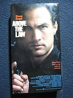 Above the Law [VHS] [VHS Tape] [1988] Steven Seagal