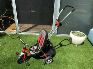 Puky CAT Ceety S6 Tricycle stroller RED Kids Child Tricycle Learning to Ride